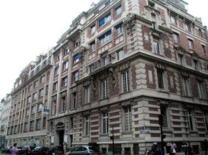 Institut Arthur Vernes : vue extérieure des bâtiments