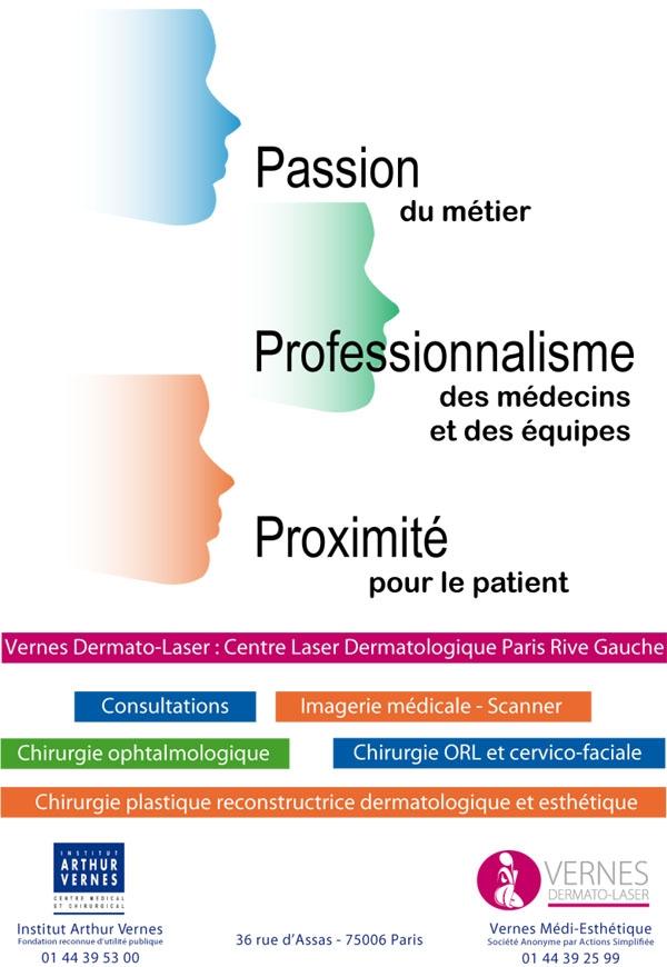 Les valeurs du centre laser dermatologique Vernes Dermato Laser